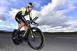 March 7, 2018 - Saint Etienne, France - SAINT-ETIENNE, FRANCE - MARCH 7 : KREUZIGER Roman  (CZE)  of Mitchelton - Scott in action during stage 4 of the 2018 Paris - Nice cycling race, an individual time trial over 18,4 km from La Fouillouse to Saint-Etienne on March 07, 2018 in Saint-Etienne, France, 7/03/2018 (Credit Image: © Panoramic via ZUMA Press)