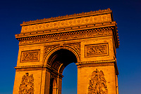 The Arc de Triomphe (The Arc de Triomphe de l'Étoile) is one of the most famous monuments in Paris, France, standing at the western end of the Champs-Élysées at the centre of Place Charles de Gaulle, formerly named Place de l'Étoile.