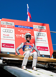 Manuel Poppinger (AUT) during Ski Flying Hill Team Competition at Day 3 of FIS Ski Jumping World Cup Final 2016, on March 19, 2016 in Planica, Slovenia. Photo by Vid Ponikvar / Sportida