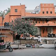 Street scene in Jaipur.