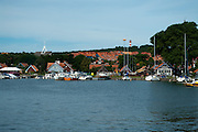 A view of the Nida Harbor, Lithuania