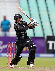 Keshav Maharaj of Hollywoodbets Dolphins during the T20 Challenge cricket match between the Hollywoodbets Dolphins and VKB Knights  at the Kingsmead stadium in Durban, KwaZulu Natal, South Africa on the 11 Dec 2016<br /> <br /> Photo by:   Steve Haag / Real Time Images