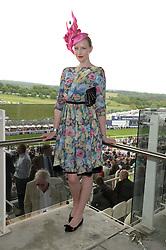 JADE PARFITT at the Investec Derby 2013 held at Epsom Racecourse, Epsom, Surrey on 1st June 2013.