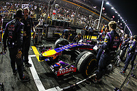 VETTEL Sebastian (Ger) <br />  Formula One World Championship, Singapore Grand Prix from September 19th to 21th 2014 in Singapour.<br /> F1<br /> <br /> Norway only