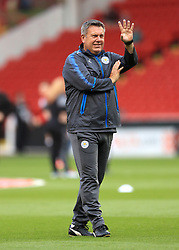 Leicester City manager Craig Shakespeare prior to the Carabao Cup, Second Round match at Bramall Lane, Sheffield.