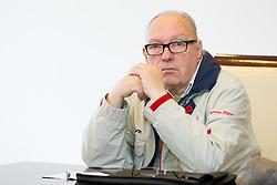 Tom Lajevec during press conference of Slovenian Ice hockey Federation HZS, on December 27, 2013 in Hala Tivoli, Ljubljana, Slovenia.  Photo by Vid Ponikvar / Sportida