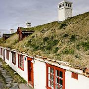 Three weeks aboard the Kong Harald. Hurtigruten, the Coastal Express. Vardøhus Festning, Traditionnal houses in Vardo (Finnmark)