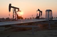 Oil Production, Taft California