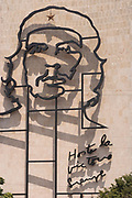 Mural to Che Guavara in the centre of Havana
