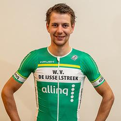 25-02-2020: Wielrennen: Teampresentatie IJsselstreek; Harderwijk <br /> Maarten Vierhout