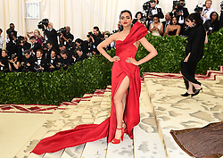 Deepika Padukone attending the Metropolitan Museum of Art Costume Institute Benefit Gala 2018 in New York, USA. PRESS ASSOCIATION Photo. Picture date: Picture date: Monday May 7, 2018. See PA story SHOWBIZ MET Gala. Photo credit should read: Ian West/PA Wire