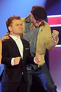 Finale The Voice of Holland vanuit de Studio Lukkien, Ede.<br /> <br /> op de foto:<br /> <br />  Roel van Velzen en Ben Saunders