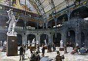 Exhibition of Sculpture in the New Gallery at the Palace of Industry, Paris, 21 May 1892.  France, Art