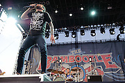 A Day To Remember performs at the Bamboozle Music Festival. Meadowlands Sports Complex, East Rutherford, NJ.  April 30, 2011. Copyright © 2011 Chris Owyoung.