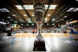 Trophy during basketball match between KK Sixt Primorska and KK Petrol Olimpija in semifinal of Spar Cup 2018/19, on February 16, 2019 in Arena Bonifika, Koper / Capodistria, Slovenia. Photo by Vid Ponikvar / Sportida