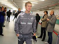 Fotball, 10. februar 2009 ,Trening foran privat-kampen mellom Norge og Tyskland<br /> Morten Gamst Pedersen