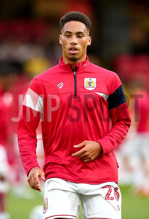 Zak Vyner of Bristol City - Mandatory by-line: Robbie Stephenson/JMP - 22/08/2017 - FOOTBALL - Vicarage Road - Watford, England - Watford v Bristol City - Carabao Cup