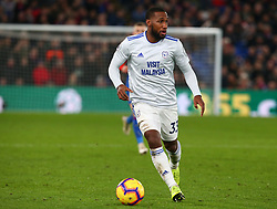 December 26, 2018 - London, England, United Kingdom - London, England - 26 December, 2018.Cardiff City's Junior Hoilett.during English Premier League between Crystal Palace and Cardiff City at Selhurst Park stadium , London, England on 26 Dec 2018. (Credit Image: © Action Foto Sport/NurPhoto via ZUMA Press)