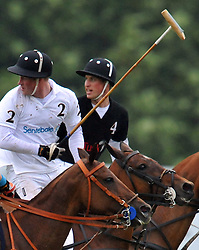 The Duke of Cambridge Prince William and his brother Prince Harry take part in the Sentebale Polo Cup at Coworth Park, Ascot, England, Photo By Andrew Parsons/ Parsons MediaThe Duke of Cambridge Prince William and his brother Prince Harry take part in the Sentebale Polo Cup at Coworth Park, Ascot, England, June 12, 2011. Photo By Andrew Parsons/ i-Images