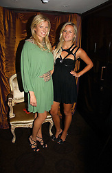 Sisters FIONA & OLYMPIA SCARRY at a party to celebrate the 50th Anniversary of Gina Shoes held at The Bar, The Dorchester, Park Lane, London on 19th September 2006.<br /><br />NON EXCLUSIVE - WORLD RIGHTS