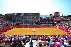 May 6, 2018 - Estoril, Estoril, Portugal - General view during the match between Joao Sousa vs Frances Tiafoe for Millennium Estoril Open 2018 at Clube de Tenis do Estoril on May 06, 2018 in Estoril, Portugal. (Credit Image: © Dpi/NurPhoto via ZUMA Press)