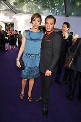 Actor ED WESTWICK and JO ELVIN at the 2009 Glamour Magazine Awards held in Berkeley Square, London on 2nd June 2009.