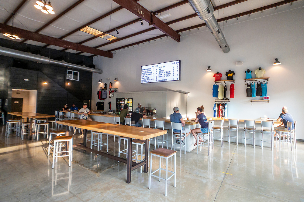 New Anthem Beer Project in Wilmington, North Carolina on Thursday, August 12, 2021. Copyright 2021 Jason Barnette