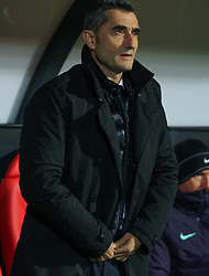 October 31, 2018 - Leon, Leon, Spain - Valverde of Barcelona in action during the King Spanish championship, , football match between Cultural Leonesa and Barcelona, October 31, in Reino de Leon Stadium in Leon, Spain. (Credit Image: © AFP7 via ZUMA Wire)
