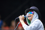 MANCHESTER, TN - JUNE 14:   Erykah Badu performs at the 2009 Bonnaroo Music and Arts Festival on June 14, 2009 in Manchester, Tennessee. Photo by Bryan Rinnert/3Sight Photography