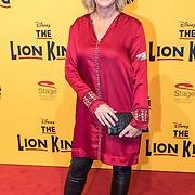 NLD/Scheveningen/20161030 - Premiere musical The Lion King, Irene Moors