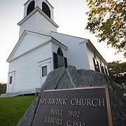 Spurwink Church Wedding • Cape Elizabeth, Maine Wedding Photography