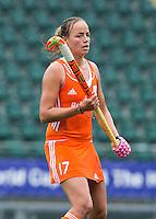 DEN HAAG - MAARTJE PAUMEN.  Nederland speelt oefenwedstrijd tegen USA in het Kyocera Stadion. COPYRIGHT KOEN SUYK
