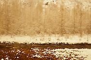 snowy day on Provo River near Francis, UT USA