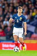 Kieran Tierney (#6) of Scotland during the International Friendly match between Scotland and Belgium at Hampden Park, Glasgow, United Kingdom on 7 September 2018.