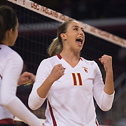 USC Women's Volleyball v Oregon
