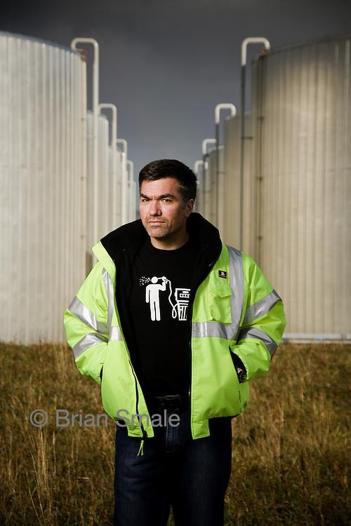 Martin Tobias Portraits of Martin Tobias, Founder & CEO of Imperium Renewables, a producer of bio fuels in Gray's Harbor, Washington.