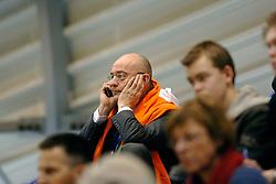 05-03-2006 VOLLEYBAL: FINAL 4 HEREN:  ORION - ORTEC NESSELANDE: ROTTERDAM<br /> In een mooie finale was Nesselande in 3 sets te sterk voor Orion / Voorzitter Martin Heerschap<br /> Copyrights2006-WWW.FOTOHOOGENDOORN.NL
