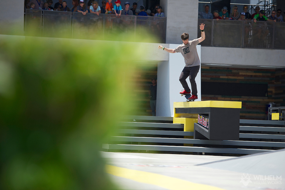 Chris Cole during Street League Skate Finals at the 2013 X Games Los Angeles in Los Angeles, CA. ©Brett Wilhelm/ESPN