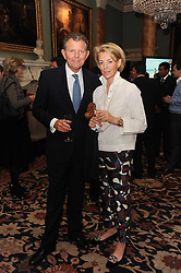 A party to promote the exclusive Puntacana Resort & Club - the Caribbean's Premier Golf & Beach Resort Destination, was held at Spencer House, London on 13th May 2010.<br /> <br /> Picture shows:-BERNARD & FIONA DREESMAN