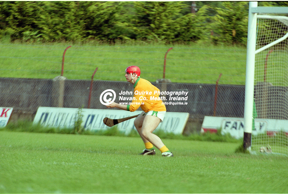 31-07-1999. Meath v Tyrone - All-Ireland JHC  Final at Breffni Park, Cavan.<br /> Derek Bannon, Meath.<br /> Photo: John Quirke / www.quirke.ie<br /> ©John Quirke Photography, 16 Proudstown Road, Navan. Co. Meath. (info@quirke.ie / 046-9028461 / 087-2579454).
