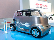 Japan's Toyota automaker displays an hybrid Hi-CT concept car during Shanghai Motor Show, in Shanghai, China, on April 20, 2009. Shanghai auto show opened Monday for the press and will be open April 24-28 for the public. China is the only major auto market still growing despite the global economic slowdown. U.S. and global auto makers see China as the place where they can find the sales they desperately lack in their home market. Chinese automakers see the opportunity to assess themselves as major players in the world market. Photo by Lucas Schifres/Pictobank