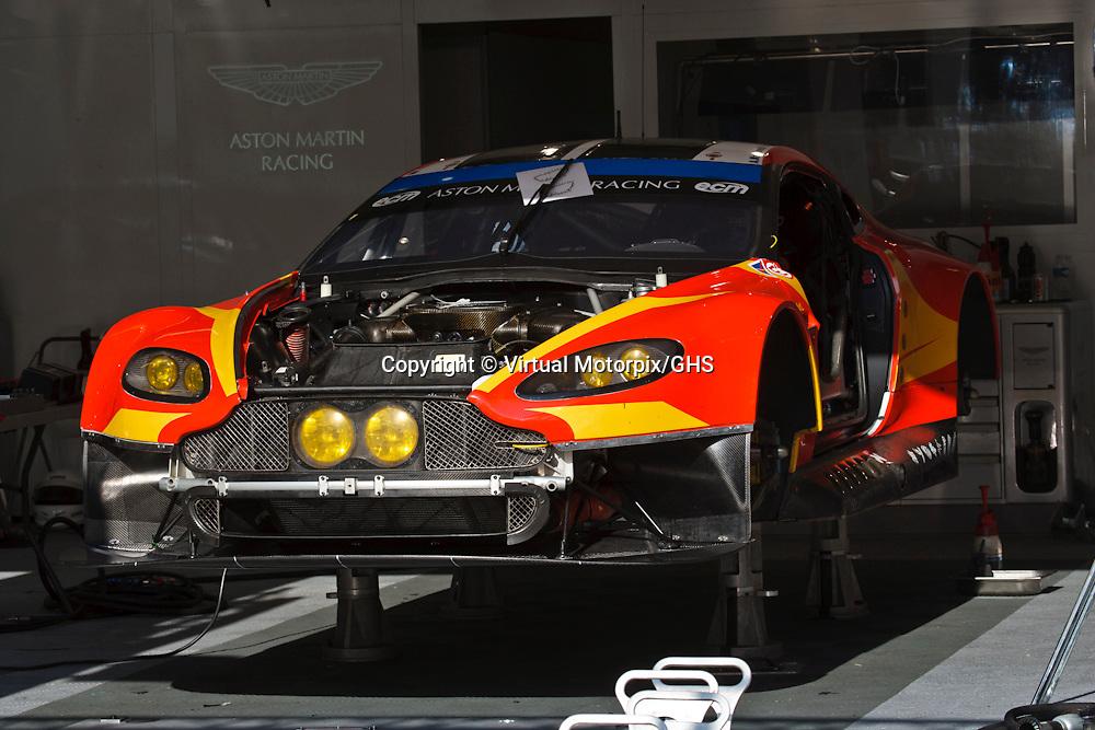 #99 Aston Martin Vantage V8, Aston Martin Racing, Alex MacDowall, Fernando Rees, Richie Stanaway, at Le Mans 24H, 2015