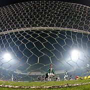 Bursaspor's Hajime Hosogai (C) during their Turkish Super League soccer match Bursaspor between Besiktas at the Ataturk Stadium in Bursa Turkey on Sunday, 08 November 2015. Photo by Aykut AKICI/TURKPIX