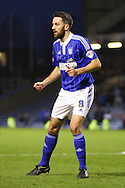 Cole Skuse of Ipswich Town looks on. Skybet football league Championship match, Burnley v Ipswich Town at Turf Moor in Burnley, Lancs on Saturday 2nd January 2016.<br /> pic by Chris Stading, Andrew Orchard sports photography.
