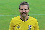 *** at the AFC Wimbledon Team Photo 02AUG16 at the Cherry Red Records Stadium, Kingston, England on 2 August 2016. Photo by Stuart Butcher.