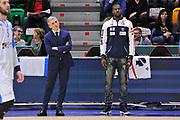 DESCRIZIONE : Eurocup Last 32 Group N Dinamo Banco di Sardegna Sassari - Galatasaray Odeabank Istanbul<br /> GIOCATORE : Marco Calvani Tony Mitchell<br /> CATEGORIA : Before Pregame Ritratto Allenatore Coach<br /> SQUADRA : Dinamo Banco di Sardegna Sassari<br /> EVENTO : Eurocup 2015-2016 Last 32<br /> GARA : Dinamo Banco di Sardegna Sassari - Galatasaray Odeabank Istanbul<br /> DATA : 13/01/2016<br /> SPORT : Pallacanestro <br /> AUTORE : Agenzia Ciamillo-Castoria/C.Atzori