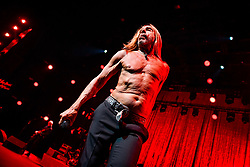 Iggy Pop performing live on stage during Montreux Jazz Festival in Montreux, Switzerland on July 03, 2018. Photo by Julien Zannoni/APS-Medias/ABACAPRESS.COM