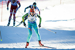 Olga Abramova (UKR) competes during Women 10 km Pursuit at day 3 of IBU Biathlon World Cup 2015/16 Pokljuka, on December 19, 2015 in Rudno polje, Pokljuka, Slovenia. Photo by Ziga Zupan / Sportida
