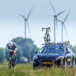EMMEN (NED) June 16: <br />CYCLING <br />Dutch Nationals Time Trail men U23 <br />Max Kroonen