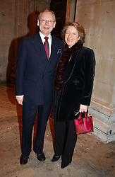 JOHN & PENNY GUMMER he is an MP at the annual House of Lords & House of Commons Parliamentary Palace of Varieties at St.John's Smith Square, London on 27th January 2005.<br /><br />NON EXCLUSIVE - WORLD RIGHTS